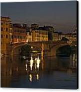 Florence - Ponte San Trinita Canvas Print