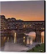 Florence - Ponte Vecchio Canvas Print