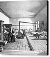 Florence Nightingale, English Nurse Canvas Print
