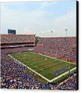 Florida  Ben Hill Griffin Stadium On Game Day Canvas Print
