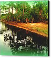 Florida Landscape Canvas Print by Susanne Van Hulst