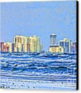 Florida Turbulence Canvas Print by Deborah Benoit