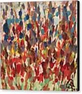 Flower Garden Canvas Print by Gail Schmiedlin