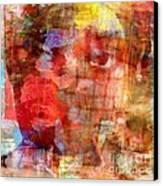 Flower Girll Canvas Print