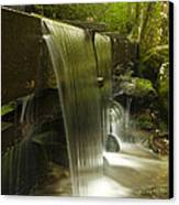 Flowing Water Canvas Print by Andrew Soundarajan
