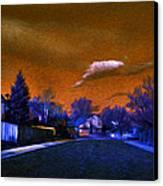 Fluorescent Canvas Print