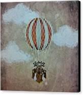 Fly Canvas Print by Salwa  Najm