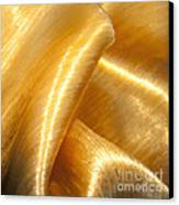 Folding Gold Canvas Print by Artist and Photographer Laura Wrede