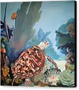 Fondo Marino Canvas Print by Jose Romero