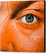 Football Scars Canvas Print by Semmick Photo