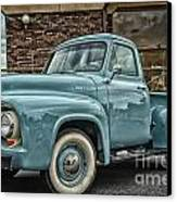 Ford Tough Canvas Print by Tamera James