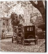 Fords At Harpers Ferry Canvas Print