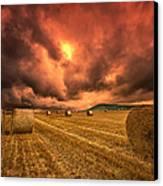 Foreboding Sky Canvas Print