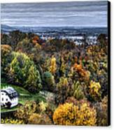 Forest Cottage Canvas Print by Anthony Citro