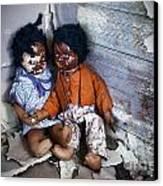 Forgotten Dolls Study IIi Canvas Print by Norma Warden