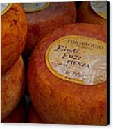 Formaggio Cheese Of Italy Canvas Print by Roger Mullenhour
