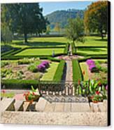 Formal Garden I Canvas Print by Steven Ainsworth