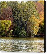Fowler Lake 4 Canvas Print by Franklin Conour
