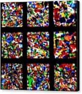 Fractured Squares Canvas Print by Meandering Photography