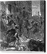 France: Massacre, 1572 Canvas Print