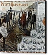 France: Socialism, 1900 Canvas Print by Granger