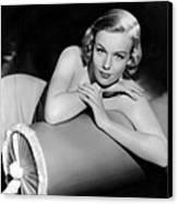 Frances Farmer, Paramount Pictures Canvas Print