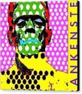 Frankenstein Canvas Print by Ricky Sencion