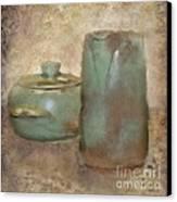 Frankhoma Pottery Canvas Print by Betty LaRue