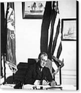 Franklin D. Roosevelt, 32nd American Canvas Print