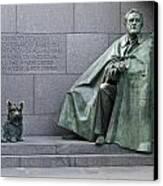 Franklin Delano Roosevelt Memorial - Washington Dc Canvas Print by Brendan Reals