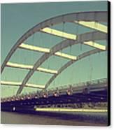 Freddie Sue Bridge Canvas Print by Kristen Cavanaugh