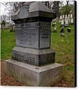 Frederick Douglass Grave Two Canvas Print by Joshua House