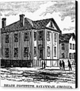 Freedmen School, 1868 Canvas Print by Granger
