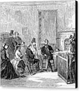 Freedmens Bureau, 1867 Canvas Print