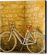 French Bicycle Canvas Print by Georgia Fowler