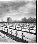 French Cemetery Canvas Print by Simon Marsden