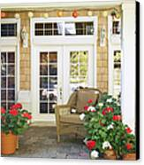 French Doors And Patio Canvas Print by Andersen Ross