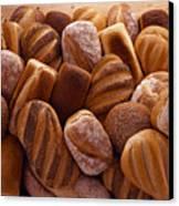 Fresh Bread Loaves Canvas Print