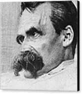 Friedrich Wilhelm Nietzsche, German Canvas Print by Photo Researchers