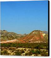 From A Distance Canvas Print by Judy Hall-Folde