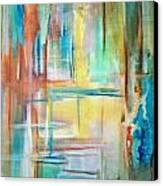 From Dusk To Dawn Canvas Print by Derya  Aktas