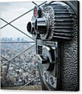 From Observation Deck. Canvas Print