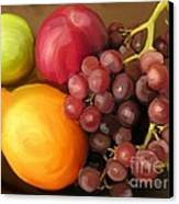 Fruit Aplenty Canvas Print by Anne Ferguson
