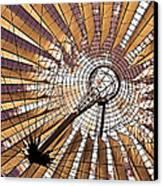 Fujisan In Berlin Canvas Print by Juergen Weiss