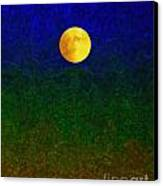 Full Moon Canvas Print by Dale   Ford