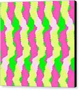 Funky Stripes Canvas Print