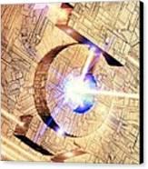 Future Computing, Conceptual Image Canvas Print