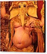 Ganesh Goddess  Canvas Print by Rajan Advani