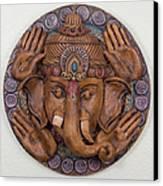 Ganesha Canvas Print by Jaimie Gunn