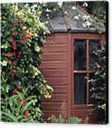 Garden Shed Canvas Print by Archie Young